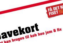 Jem & Fix – I fixer vi Støtter, borde & bænke til middelaldertræffet