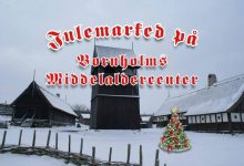 Julemarked på Bornholms Middelaldercenter