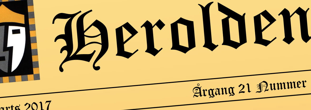 Vennekredsens medlemsblad Herolden